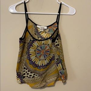 Sans Souci patterned tank top size small new